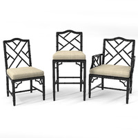 Chippendale Chairs Set