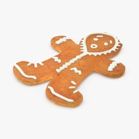 Gingerbread Man with Hood