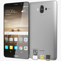Huawei Mate 9 Space Grey with SD/SIM Card Tray