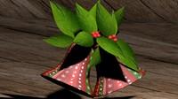 Easter Bells Game Model - 3D engraving