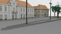 Baroque Street 6 Game - 3D engraving