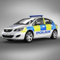 UK police car