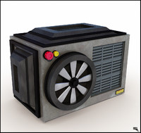 Cartoon Air Conditioner