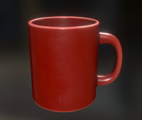 Coffee Cup Red Version