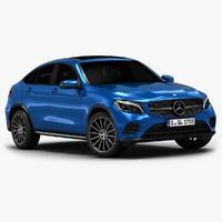 2017 Mercedes-Benz GLC Coupe (Low Interior)