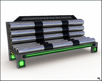 Futuristic Bench