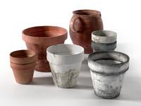 Old Pots Set