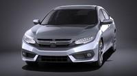 Honda Civic Sedan EX 2017 VRAY