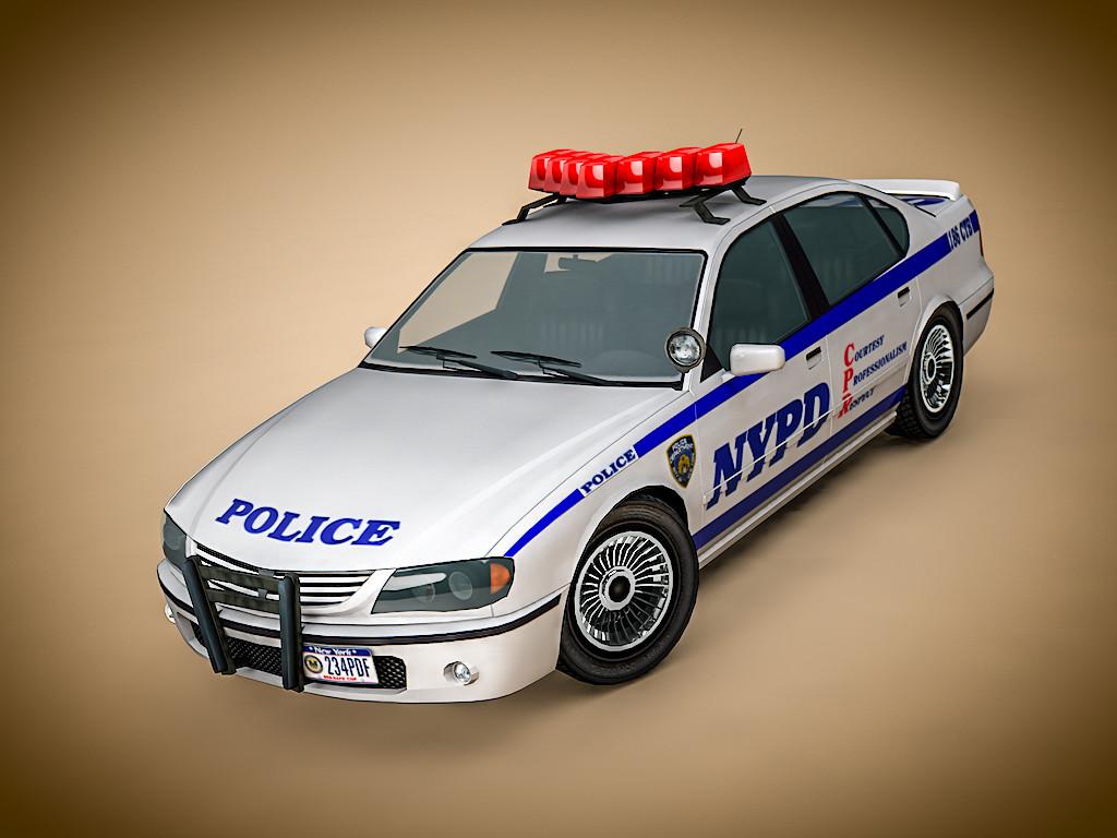 3d c4d police car nypd. Black Bedroom Furniture Sets. Home Design Ideas