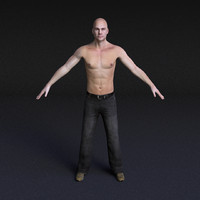 Male Model #5 - Rigged