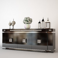 lalique sideboard 3d model