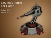 turret games 3d max