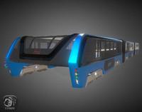 TEB transit elevated bus