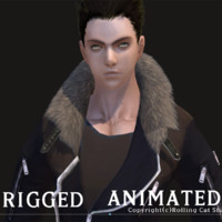 RPG Knight Character Man B