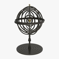 Iron Armillary Sphere