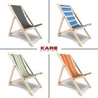 Kare Design Collection Deckchair