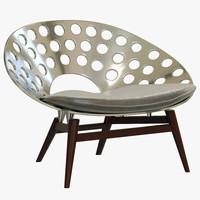 baxter roma armchair 3ds