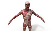 Burned zombie PBR