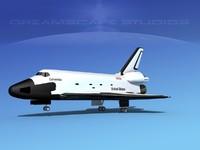Space Shuttle Columbia Landing LP 1-3