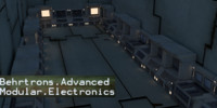 Behrtrons Advanced Modular Electronics Pack Scenery Props Environment Computers Room Interior