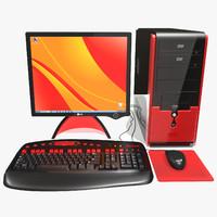 asus lcd monitor 3d max