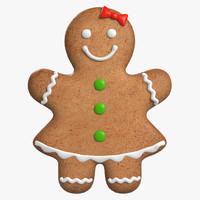 Gingerbread Cookie 1