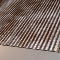 3d corrugated sheet metal roof