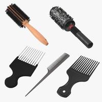 Picks and Round Brushes