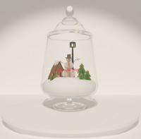 3d model of christmas decoration