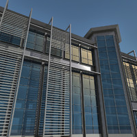 Modern Building 081