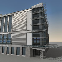 Modern Building 092