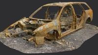 Old Burnt Car