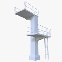 Diving tower two