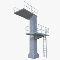 Diving tower two full
