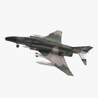 McDonnell Douglas F-4 Phantom II Rigged