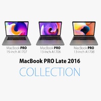Macbook Pro Late 2016 COLLECTION