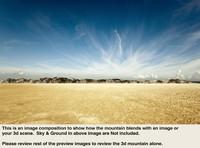 Desert Mountain Range