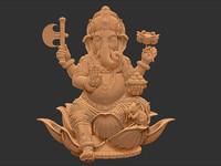 Ganesha (sitting pose)