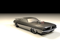 Classic Drag Car