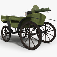 3d horse military