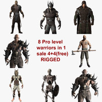 Rigged Warriors Collection
