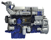 2017 Volvo Powertrain D13 Engine
