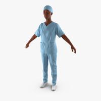 Afro American Nurse