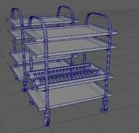 kitchen carts 2 pieces