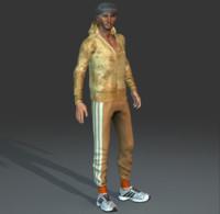 Man Skin Vector