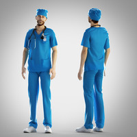 3ds surgeon outfit