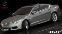 Jaguar XF 2012 (Low Interior)