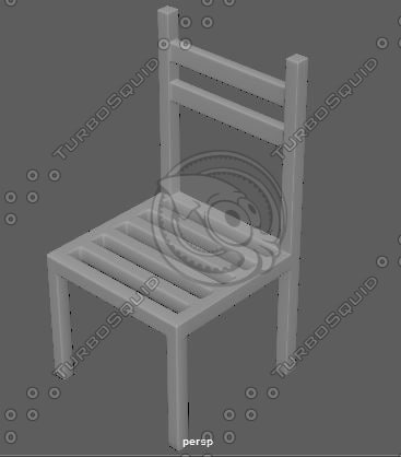 3d ma maya chair for Chair 3d model maya