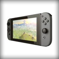 Nintendo Switch 3d print scene