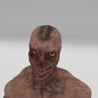 Futuristic Zombie Creature [Animated]